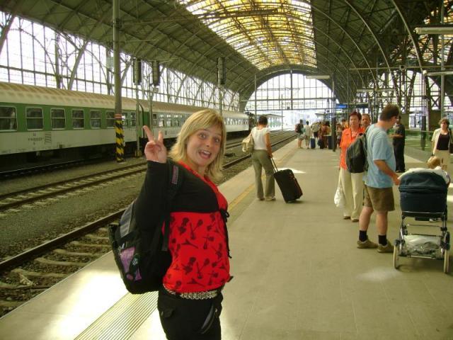 Na hlaváku v Praze