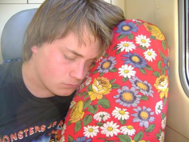 Jožo Uzenář, ležící spící...